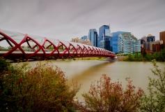 8504206-Peace-Bridge-Calgary-Alberta