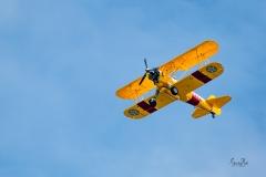 D8504139-Bi-Plane-Flying-Overhead