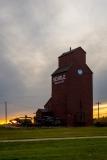 D8505444-Elevator-at-sunset-Rowley-Alberta