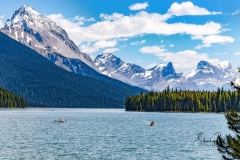 Boaters-on-Moraine-Lake