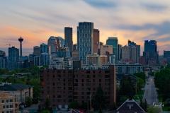 D8504105-Calgary-City-Core-Skyline-at-Sunset