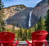 D8507831-Red-Chairs-Takakkaw-Falls-Yoho-National-Park